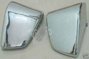 Battery Side Fairing Cover Chrome Metal Honda Shadow ACE VT 400 750