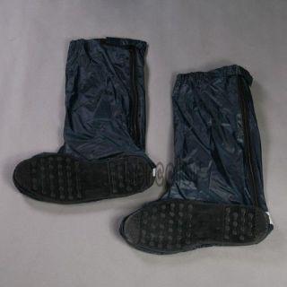 Motorcycle Rain Boot Covers Waterproof Biker Shoes L size