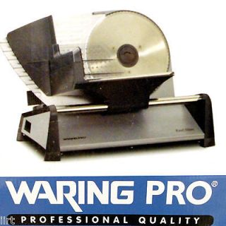 New Waring Pro® FS155 Professional Heavy duty Electric Food Slicer
