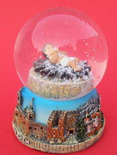 Nativity Snow Globe dome & Bethlehem Curch Holy Land Christmas Gift