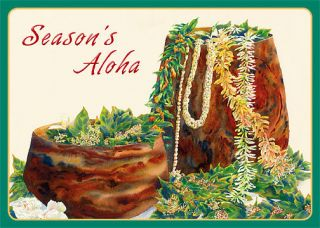 hawaii christmas cards