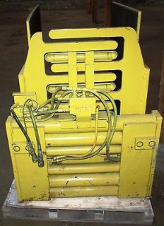 2313502 Clark Forklift Bale Box Clamp Assembly as Pictured