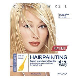 Clairol Nice n Easy Hairpainting Hair Highlights Creme For Light