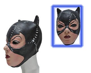 N71 PARTY COSTUME MASK   SEXY HEROINE CAT WOMAN CAT GIRL BATGIRL BLACK