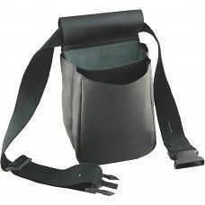 Premium Leather Shell Cartridge Pouch Bag Clay Pigeon Shooting