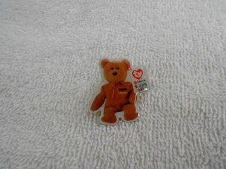 McDonalds 2000 Ty Teenie Beanie Babies Brown Bear Pin
