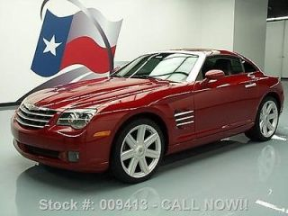 Chrysler  Crossfire WE FINANCE!! 2004 CHRYSLER CROSSFIRE 6 SPEED HTD