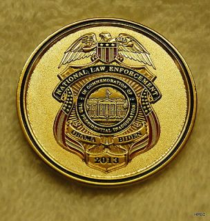 2013 Inauguration National Law Enforcement US Police Challenge Coin