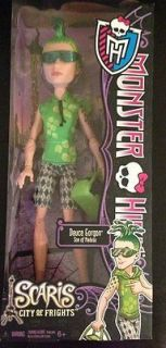 Monster High SCARIS Collection DEUCE GORGON Doll NEW Ships Worldwide