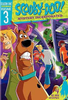 SCOOBY DOO MYSTERY INCORPORATED SEASON ONE, VOL. 3   NEW DVD