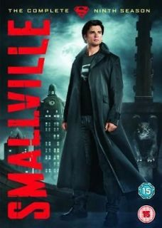 Smallville The Complete Season 9 DVD Movie TV Series Drama Region 2