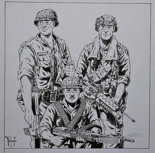 Original Art Cover WAYNE VANSANT Comics Interview MARVEL
