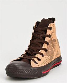 Converse All Star Chuck Taylor Sailor Jerry Hi Top Unisex Sneakers Tan