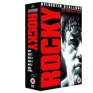 Rocky The Complete Saga [DVD] Box Set