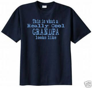 This is What a Really Cool Grandpa Looks Like Funny T shirt Funny