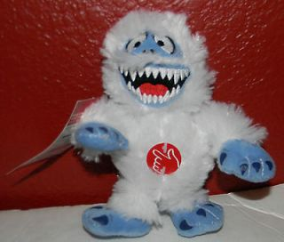 Snowman Bumble Squeeze Plush Toy Plays Rudolph the Red Nosed Reindeer