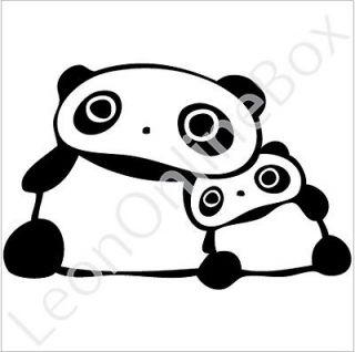 Panda Care   Cartoon Decal Vinyl Car Wall Laptop Cellphone Sticker