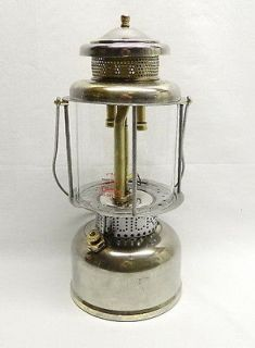 circa 1921 22 COLEMAN LQ327 QUICK LITE LANTERN LAMP w #330 Globe & R55