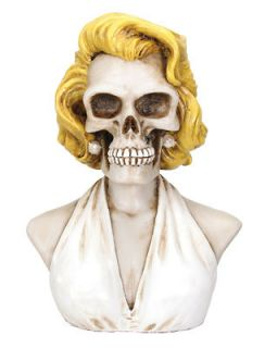 Marilyn Collectible Figurine Statue Monroe Skull Head