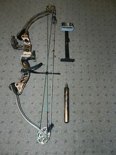 Enticer Compound Bow by HOYT   LOADED w/ Accessories, MUST SEE!