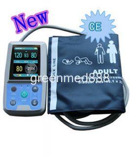 Color Big LCD Ambulatory Blood Pressure Monitor + 3 cuff FDA*CE