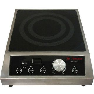 Commercial 3400W Portable Induction Cooktop Countertop Range