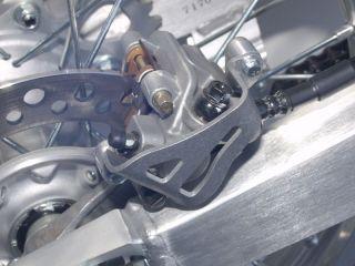 NEW WORKS CONNECTION MOTOCROSS MX DIRT BIKE REAR CALIPER GUARD HONDA