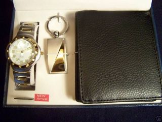 Mens Watch, Billfold, and Money Clip from Cote d Azur