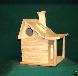 Country House Bird house Kits for Children and Adults