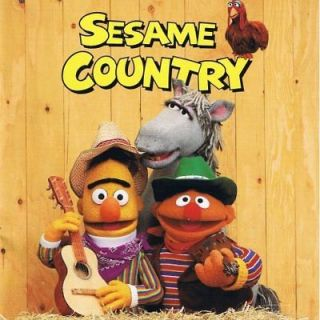 Sesame Country CD kids country music from Sesame Street