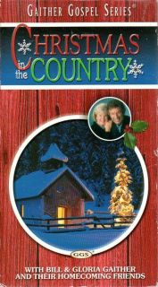 Gaither Gospel Series vhs video CHRISTMAS IN THE COUNTRY