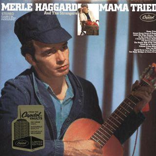 Merle Haggard   Mama Tried LP 180g Vinyl LTD NEW