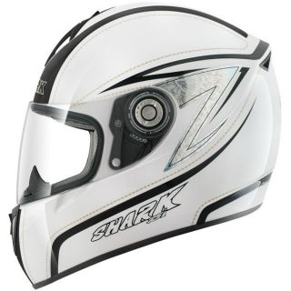 Shark RSI D Tone White Motorcycle Helmet/WAS $529.95,NOW $199