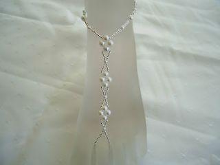 Barefoot Sandals  Beach Wedding   Bridal / Bridesmaid Foot Jewellery