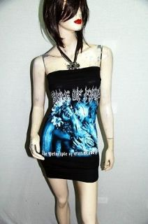 Cradle Of Filth Metal Rock DIY Sexy Tube Tank Tunic Top Shirt
