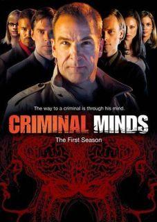 CRIMINAL MINDS SEASON 1 New Sealed 6 DVD Set