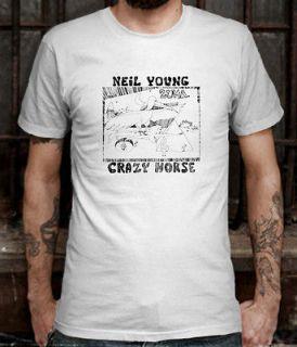 Rare New Neil Young Crazy Horse Zuma T shirt Size L (S to 3XL av)