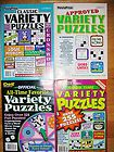 Press & Dell Variety Puzzle Books~ Logic,word seek,Sudoku, Fill in