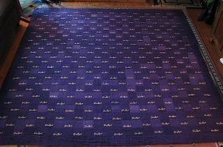 CROWN ROYAL BAG QUILT MADE FROM MORE THAN 300 BAGS