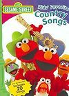 Sesame Street   Kids Favorite Country Songs DVD, 2007