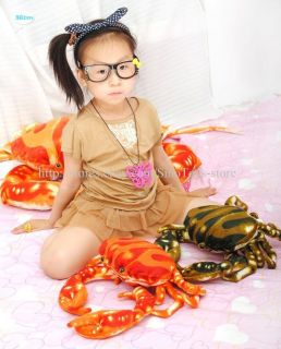 38cm Cute Sea Crab Shaped Stuffed & Plush Animal Doll Toy Pillow