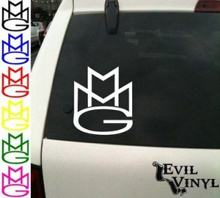 Vinyl Car Window Decal MMG Group Rick Ross Wale Meek Mill ANY SIZE
