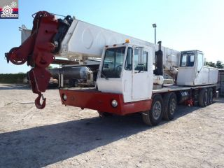 Link Belt 80100 Rough Terrain Crane