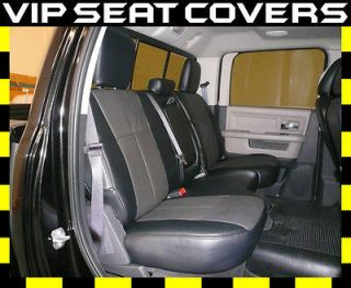 Dodge Ram 1500 Quad Cab Custom Clazzio Leather Seat Covers (2003 2008)