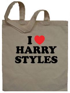 Love Harry Styles Tote Bag Shopper   Can Print Any Name Words