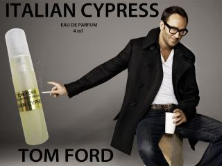 TOM FORD PRIVATE BLEND ITALIAN CYPRESS **4ml ATOMIZER* FREE SHIP