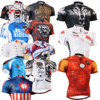 mens Bike bicycle top Cycling tight Jersey cycle clothing S~3XL