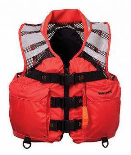 Kent Mesh Search & Rescue SAR XL Life Jacket Vest
