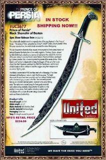 United Cutlery UC2677 Prince of Persia Sword & Wall Display