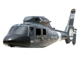 Esky 000593 Dauphin Douphin Fuselage Grey  USA Seller